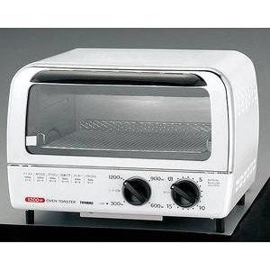 TWINBIRD(ツインバード) オーブントースター 1200W TS-4016W コンパクトで機能充実 - 拡大画像