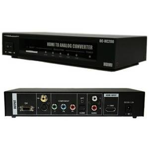 OCTA(オクタ) 画像安定装置 HDMIアナログコンバーター OC-HC200