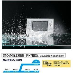 ツインバード 防水ポータブルDVDプレーヤー VD-J712W 【業界最高クラスの防水性能】 SDカードスロット内蔵