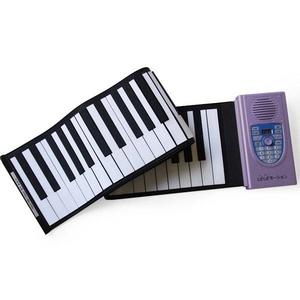 LaLaモーション ロールアップピアノ(61鍵盤) MT-RP100 【ACアダプター サスティンペダル付】 - 拡大画像