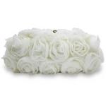 Sondra Roberts(サンドラ・ロバート) パーティーバッグ クラッチ Chiffon Rose Clutch ホワイト R48526A -WH