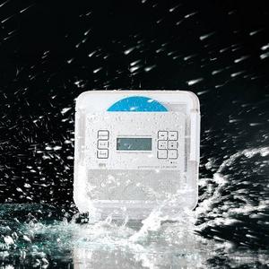 TWINBIRD 充電式防水CDプレーヤー CDザバディ (シルバー) AV-J189S
