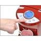 瞬間湯沸かし器 スーパー湯マッハ VS-SYM55 ホワイト 約5秒でお湯が沸くスピード給湯 温度調整4段階 - 縮小画像3