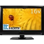 digiMOTION(デジモーション) 地デジチューナー内蔵 地上デジタルハイビジョン16V液晶テレビ MDTV-16K102L