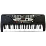 SunRuck(サンルック) PlayTouchFlash54 発光キー 電子ピアノ SR-DP01 ブラック