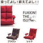 ATEX(アテックス) 腹筋座椅子 AX-HC151(RD) レッド