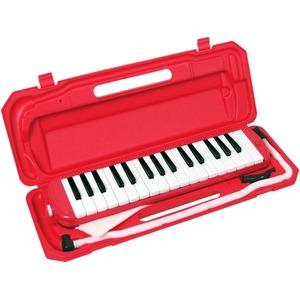 カラフル32鍵盤ハーモニカ♪ MELODY PIANO 【P3001-32K】 ♪ ピアニカ ♪  レッド