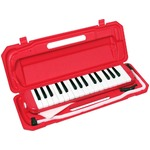 カラフル32鍵盤ハーモニカ MELODY PIANO P3001-32K レッド