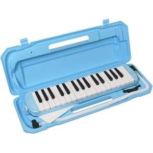 カラフル32鍵盤ハーモニカ♪ MELODY PIANO 【P3001-32K】 ♪ ピアニカ ♪ ライトブルー