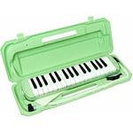 カラフル32鍵盤ハーモニカ♪ MELODY PIANO 【P3001-32K】 ♪ ピアニカ ♪ ライトグリーン