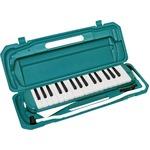 カラフル32鍵盤ハーモニカ♪ MELODY PIANO 【P3001-32K】 ♪ ピアニカ ♪ グリーン