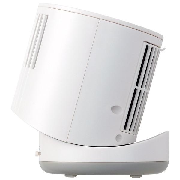 コンパクトデスクファン シリンダー FSQ-104UWH ホワイト
