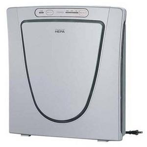 ツインバード 高性能HEPAフィルター採用 薄型空気清浄器 AC-4357S 12畳対応