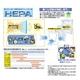 ツインバード 高性能HEPAフィルター採用 薄型空気清浄器 AC-4357S 12畳対応 写真3