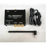 AVトランスミッター PLAISANT(CAMOS)配線不要!12V車用 【AV-100】音声と映像を送信!