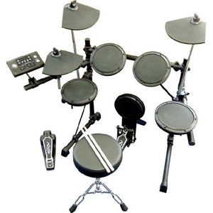 電子ドラム初心者セット!!価格以上のクオリティー!デジタルドラム【Mederi DD-502J】