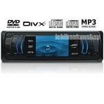 Jericho(ジェリコ) 車載DVDプレーヤー J-190H 1DIN 3型液晶搭載【DivX・MPEG4・MP3対応】AM/FM内蔵【25Wアンプ内蔵】【USB/MMC/SD対応】