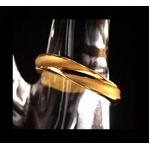 純金ゴールドリング【エターナルM】999ゴールド r04【送料無料】