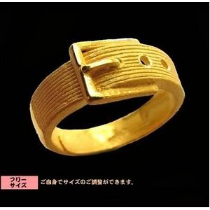 純金ゴールドリング【ベルト】999ゴールド