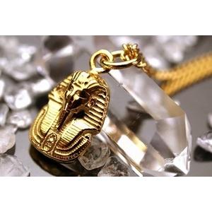 純金製ファラオゴールドペンダントトップ