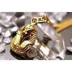 純金製ペンダントトップ ファラオ p51