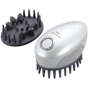 TWINBIRD(ツインバード) 頭皮洗浄ブラシ モミダッシュPRO SH-2793PW もみだし洗いで毛穴すっきり - 拡大画像