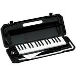 カラフル32鍵盤ハーモニカ♪ MELODY PIANO 【P3001-32K】♪ ピアニカ ♪ ブラック