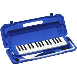 カラフル32鍵盤ハーモニカ♪ MELODY PIANO 【P3001-32K】♪ ピアニカ ♪ ブルー - 拡大画像