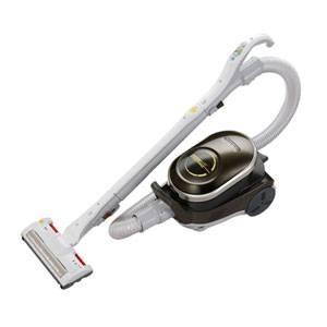 MITSUBISHI(三菱) 掃除機 TC-AJ10P(G) サイクロンクリーナー(オリーブグリーン) サイクロン 紙パック両用 パワーブラシクリーナー