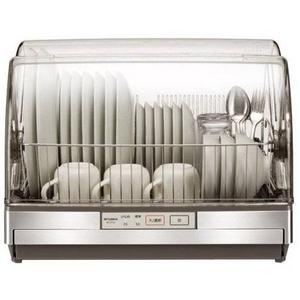 MITSUBISHI(三菱) 食器乾燥機 TK-ST10-H ステンレスグレー 6人用キッチンドライヤー - 拡大画像