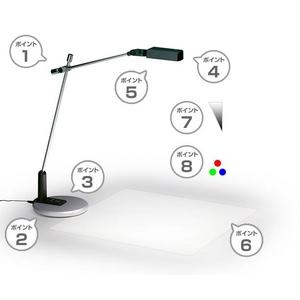 LEDデスクライト LD-1(ブラック) -2