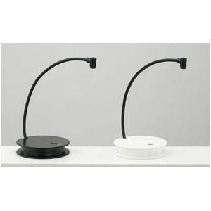 LEDポータブルデスクライト LeDart(ルダート) LH-1 ブラック - 拡大画像