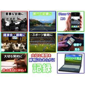 【小型カメラ】キーレス型 デジタルビデオカメラ