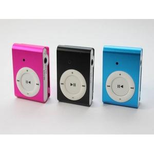 【小型カメラ】iPod shuffle型 ビデオカメラ&カメラ&mp3プレーヤー(1280x960画素)(ブラック) Windows7対応