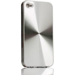 Ai-Style Series iPhone4 ハードケース 【Ai4-Sun-SB】 Type Sun SB(シルバー) - 拡大画像