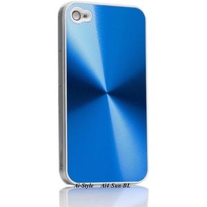 Ai-Style Series iPhone4 ハードケース 【Ai4-Sun-BL】 Type Sun BL(ブルー) - 拡大画像