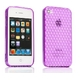 Ai-Style Series iPhone4 TPUケース 【Ai4-S-Dia-Purple】 Type S-Dia Purple(パープル) - 縮小画像2