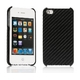 Ai-Style iPhone4 Carbon Look(ハードケース カーボンルック) 【Ai4-Carbon-Black】(ブラック) - 縮小画像2