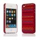 Ai-Style Series iPhone4 ケース 【Ai4-S-Dot-WN】(ワイン)替玉7色各16個付 - 縮小画像2