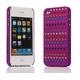 Ai-Style Series iPhone4 ケース 【Ai4-S-Dot-PL】(パープル)替玉7色各16個付 - 縮小画像2