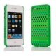 Ai-Style Series iPhone4 ケース 【Ai4-S-Dot-GN】(グリーン)替玉7色各16個付 - 縮小画像2