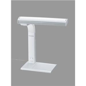 TWINBIRD(ツインバード) コンセント付タッチインバータ蛍光灯 LK-H345LGY ライトグレー