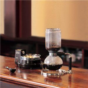 コーヒーメーカーのサイフォン式でアルコールラン …