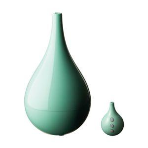 middle colors(ミドルカラーズ) ロングノーズ超音波式 リモコン 加湿器 グリーン MDL-KW904