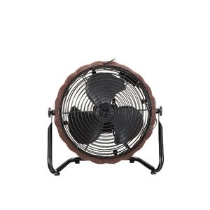 籐風インテリア扇風機 KIM-366 ダークブラウン