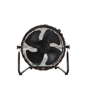 籐風インテリア扇風機 KIM-367 ダークブラウン