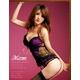 セクシーランジェリー4点セット(紫) 【オリジナル化粧箱入り】 写真2