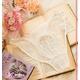 ホワイトレース×花刺繍ランジェリー4点セット 【オリジナル化粧箱入り】 - 縮小画像5