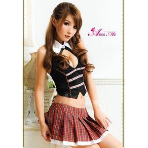 セクシーミニスカ女子高生セーラー服 - 拡大画像