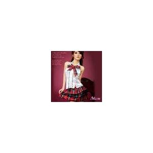 アキバ系赤チェック女子高生セーラー服 - 拡大画像